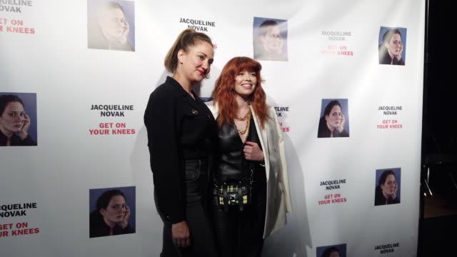 "NY: ""Jacqueline Novak: Get On Your Knees"" Opening Night"
