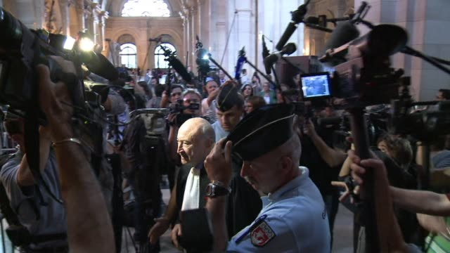 jacques chirac's embezzlement trial opened monday with the 78yearold former french president absent after a medical report said he suffered from... - former stock videos & royalty-free footage