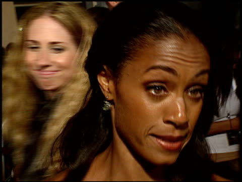 jada pinkett at the 'collateral' premiere at orpheum theatre in los angeles, california on august 2, 2004. - jada pinkett smith stock videos & royalty-free footage