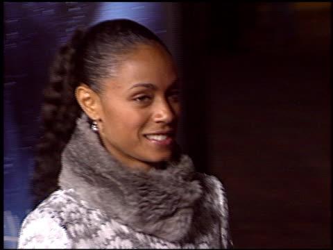 jada pinkett at the 'gothika' premiere on november 13, 2003. - jada pinkett smith stock videos & royalty-free footage