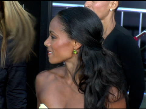 jada pinkett smith at the 'collateral' los angeles premiere at the orpheum theatre in los angeles, california on august 2, 2004. - jada pinkett smith stock videos & royalty-free footage