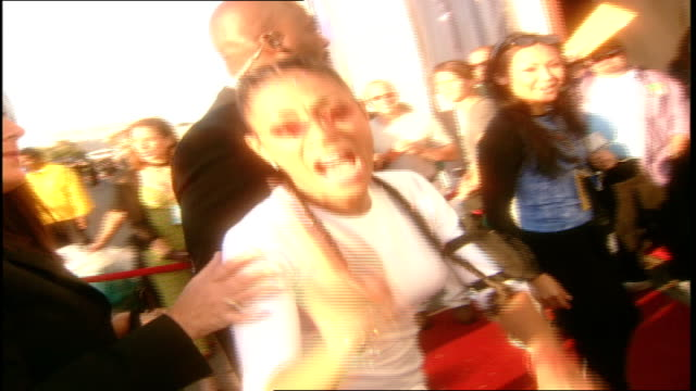 Jada Pinkett Smith MTV Movie Awards Red Carpet in Santa Monica California