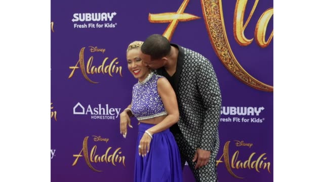 JadaPinkett Smith and Will Smith at the world premiere of Disney's Aladdin held at the El Capitan Theatre on May 21 2019 in Los Angeles California