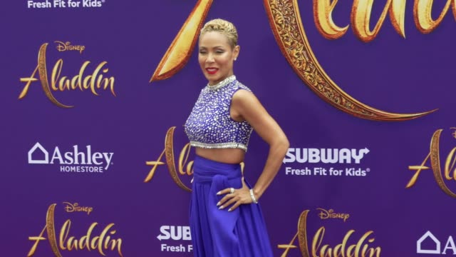 JadaPinkett Smith at the world premiere of Disney's Aladdin held at the El Capitan Theatre on May 21 2019 in Los Angeles California