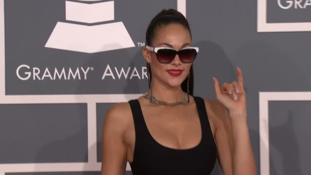 Jade Cole at 54th Annual GRAMMY Awards Arrivals on 2/12/12 in Los Angeles CA