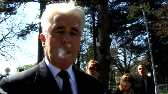 Interview with Max Clifford Max Clifford interview SOT On funeral being triumph for Jade in the way so many thousands of people came out to pay their...