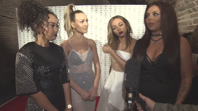 INTERVIEW Jade Thirlwall Perrie Edwards LeighAnne Pinnock Jesy Nelson on wining an award good year for women its hard being a women girls night out...
