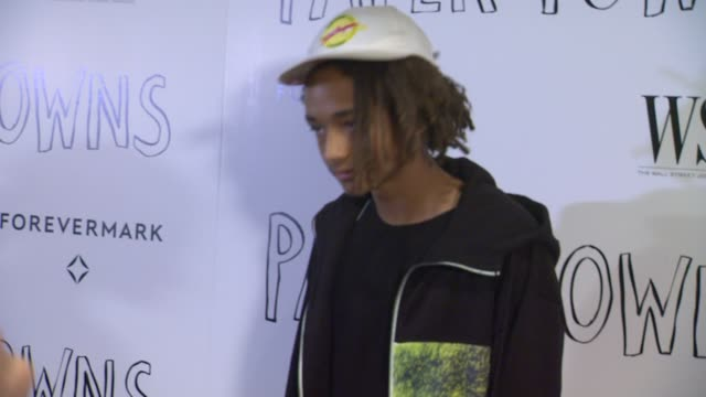 jaden smith at the paper towns los angeles premiere at the london hotel on july 18 2015 in west hollywood california - jaden smith stock videos & royalty-free footage