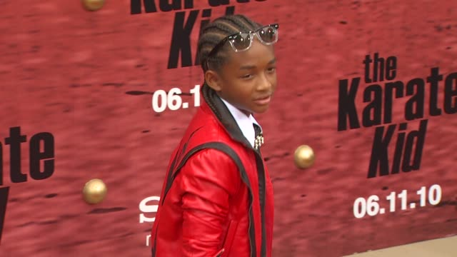 Jaden Smith at the 'The Karate Kid' Premiere at Westwood CA