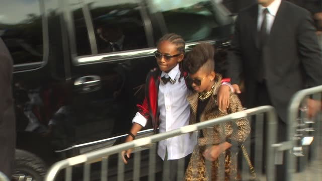 Jaden Smith Willow Smith at the 'The Karate Kid' Premiere at Westwood CA