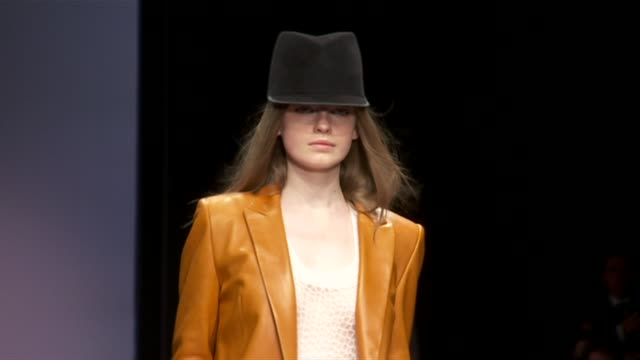 jaeger london women's fashion week - london fashion week stock videos and b-roll footage
