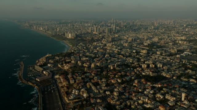 Jaffa Gulf and Tel Aviv CIty Aerial