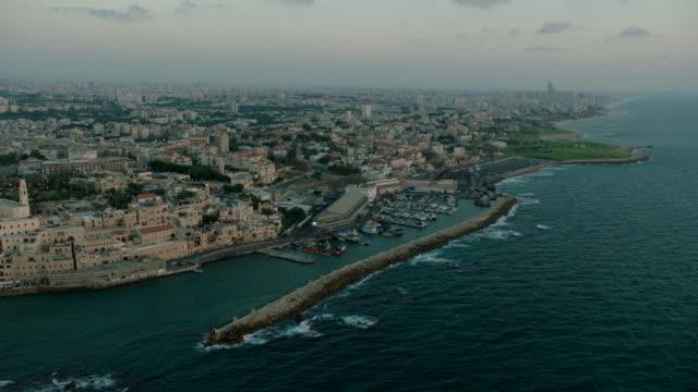 Jaffa Harbur Aerial