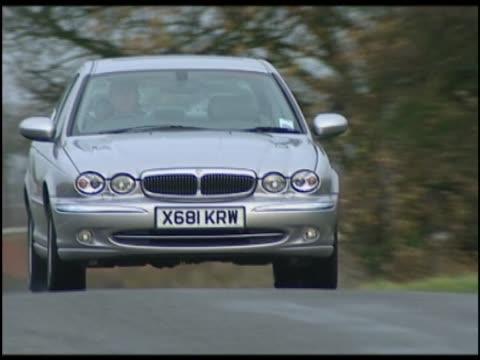 jaguar x type - 2001 stock videos & royalty-free footage