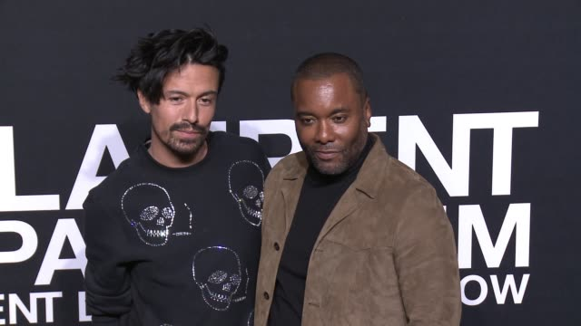 jahil fisher and lee daniels at saint laurent event at hollywood palladium on february 10 2016 in los angeles california - hollywood palladium stock videos & royalty-free footage