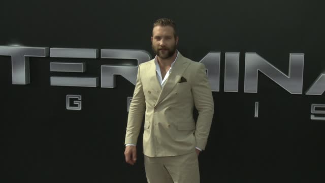 Jai Courtney at the Premiere Of Paramount Pictures' Terminator Genisys at Dolby Theatre on June 28 2015 in Hollywood California