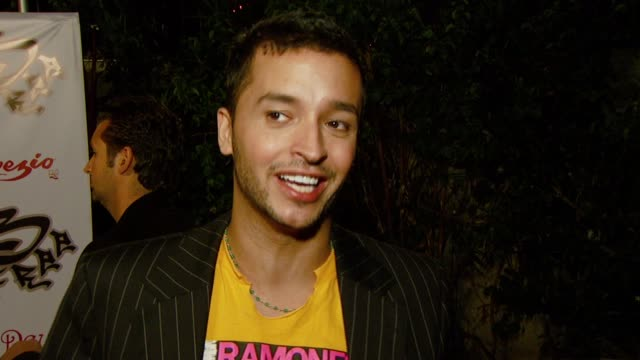 jai rodriguez on attending the event the bfree collection and what he's looking forward to tonight at the birthday celebration and launch of bfree... - les deux club stock videos & royalty-free footage