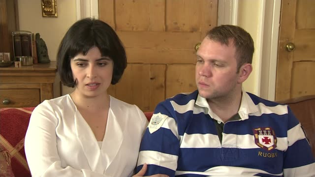 jailed academic matthew hedges says he still suffers from the effects of his imprisonment; england: int daniela tejada interview with matthew hedges... - prisoner education stock videos & royalty-free footage