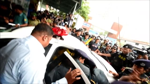 jailed bangladesh opposition leader khaleda zia was admitted to hospital in dhaka on saturdayan official said following a court order in response to... - zia stock videos & royalty-free footage