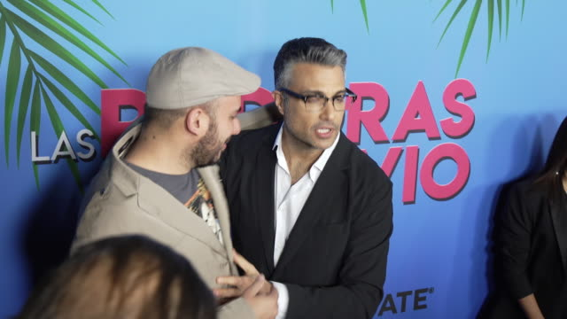 jaime camil at the las pildoras de mi novio premiere at arclight hollywood on february 18 2020 in hollywood california - arclight cinemas hollywood stock videos & royalty-free footage