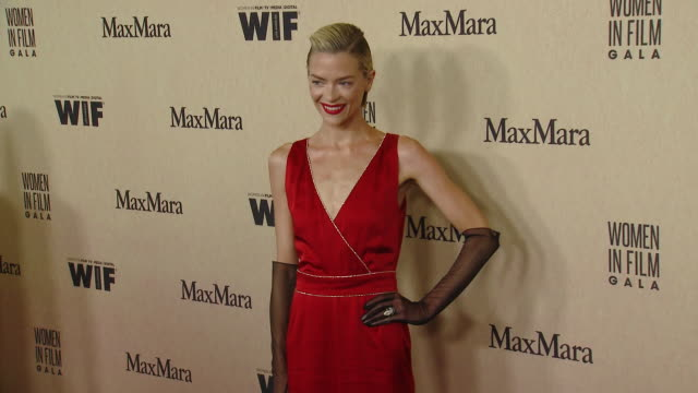 jaime king at 2019 women in film annual gala presented by max mara with additional support from partners delta air lines and lexus at the beverly... - the beverly hilton hotel stock videos & royalty-free footage