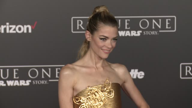 Jaime King at Rogue One A Star Wars Story World Premiere at the Pantages Theatre on December 10 2016 in Hollywood California