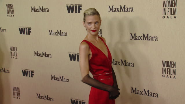 jaime king at the 2019 women in film annual gala presented by max mara with additional support from partners delta air lines and lexus - delta air lines stock-videos und b-roll-filmmaterial