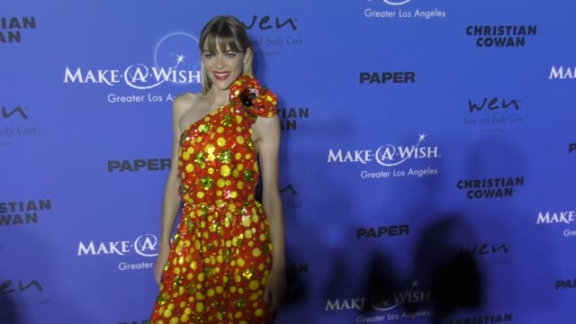 Jaime King at the PAPER Magazine Runway Benefit For MakeAWish Foundation on October 24 2017 in Los Angeles California
