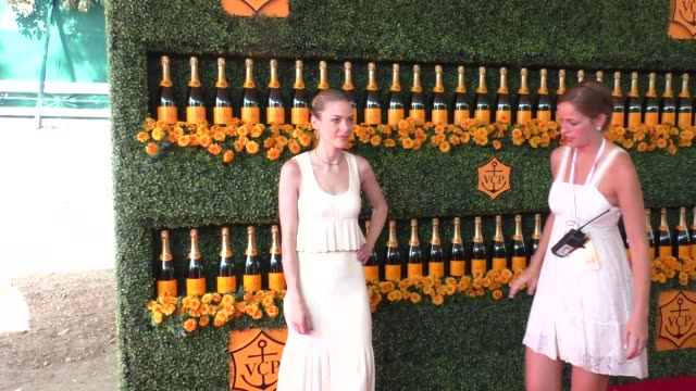 Jaime King at the sixth annual Veuve Clicquot Polo Classic at Will Rogers Historic State Park in Pacific Palisades at Celebrity Sightings in Los...