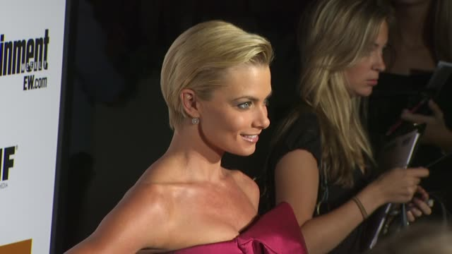 jaime pressly at the entertainment weekly - women in film pre-emmy party at west hollywood ca. - pre emmy party stock videos & royalty-free footage