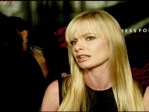 Jaime Pressly on what it means to her to be comfortable and confident in one's own skin on if she has any advice for the women in the fashion show on...