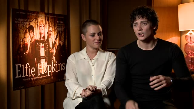 Jaime Winstone and Aneurin Barnard on how the film tries to take you by surprise at Elfie Hopkins Interviews on April 12 2012 in London England