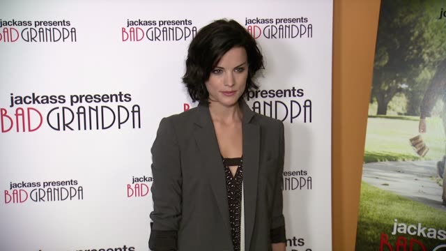 Jaimie Alexander at Jackass Presents Bad Grandpa New York Special Screening at Sunshine Landmark New York NY on 10/21/13 in New York NY