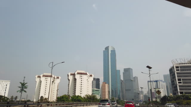 vídeos y material grabado en eventos de stock de jakarta financial district. - yakarta