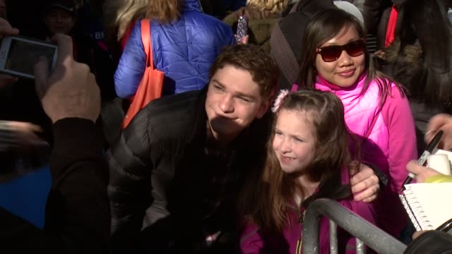 jake cherry at sundance film festival 2014 on in park city utah - park city utah video stock e b–roll