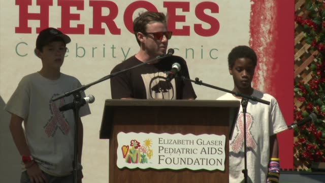 Jake Glaser at 23rd Annual 'A Time For Heroes' Celebrity Picnic Benefiting The Elizabeth Glaser Pediatric AIDS Foundation on June 03 2012 in Los...