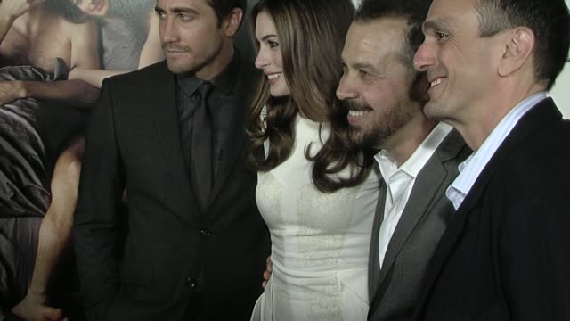 Jake Gyllenhaal Anne Hathaway at the AFI FEST 2010 Screening Of 'Love Other Drugs' at Hollywood CA