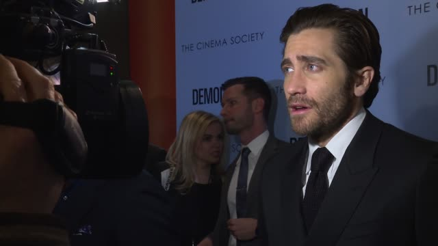 Jake Gyllenhaal at Demolition New York Special Screening Presented By Fox Searchlight at SVA Theatre on March 21 2016 in New York City