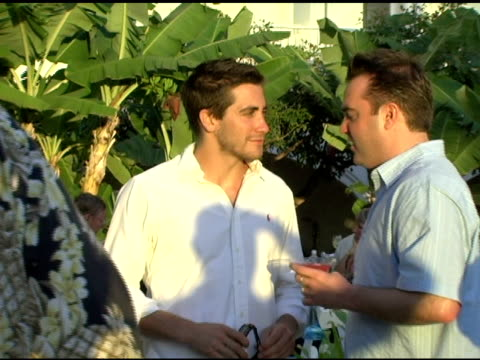Jake Gyllenhaal at the 2005 Maui Film Festival Opening Night Twilight Reception at the Fairmont Kea Lani Hotel in Maui Hawaii on June 16 2005