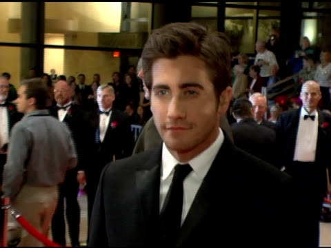 Jake Gyllenhaal at the 2006 Palm Springs International Film Festival Gala at Palm Springs Convention Center in Palm Springs California on January 7...