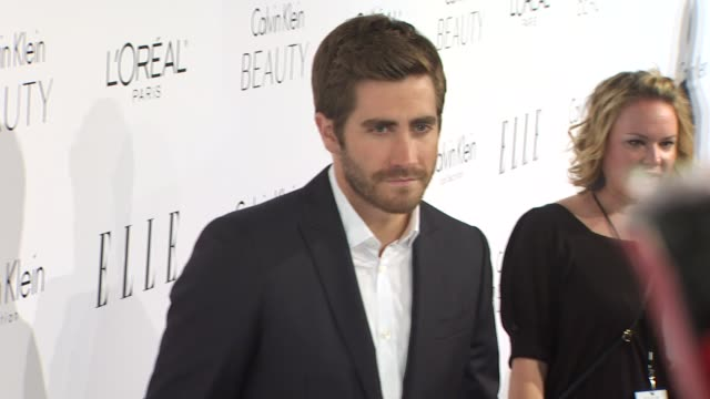 Jake Gyllenhaal at the ELLE Magazine's 17th Annual Women in Hollywood Celebration at Beverly Hills CA