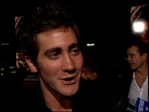 Jake Gyllenhaal at the 'Moonlight Mile' Premiere at Academy Theater AMPAS in Beverly Hills California on September 24 2002