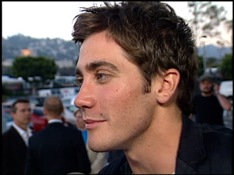 Jake Gyllenhaal at the Premiere of 'The Good Girl' at Pacific Design Center in West Hollywood California on August 7 2002
