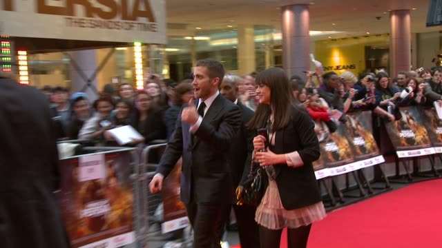Jake Gyllenhaal at the Prince of Persia Premiere UK at London England