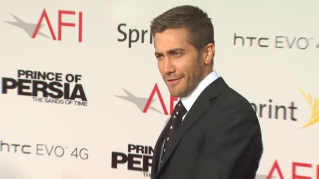 Jake Gyllenhaal at the 'Prince Of Persia The Sands Of Time' Premiere at Hollywood CA