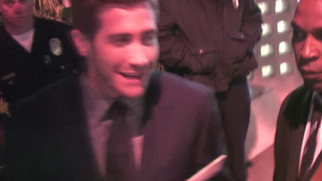 Jake Gyllenhaal at the Source Code Premiere in Hollywood