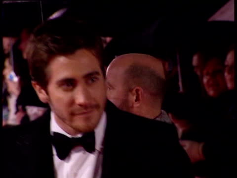 Jake Gyllenhaal atmosphere at the The Orange British Academy Film Awards 2006 Red Carpet at London