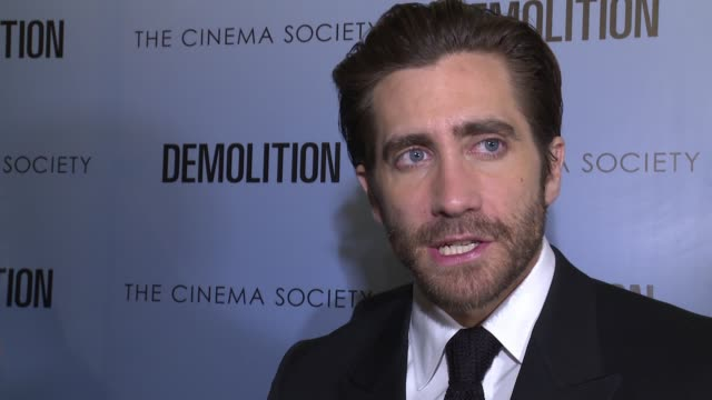 INTERVIEW Jake Gyllenhaal on the character he plays and what the film is about On having little preparation for the film and how nervewracking it was...