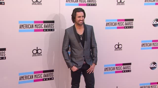 jake owen arrives at the 2013 american music awards arrivals - american music awards stock videos and b-roll footage