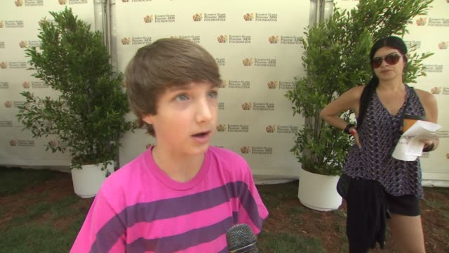Jake Short on today's event on the importance of supporting the cause on Elizabeth Glaser Pediatric AIDS Foundation and on what he's looking forward...